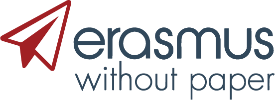 erasmus without paper logo