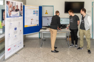 Fair stand at Hochschule Harz